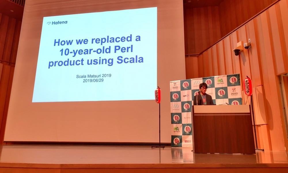 ScalaMatsuri2019にて「いかにして我々は10年もののPerlプロダクトをScalaでリプレースしたか」というタイトルで登壇しました