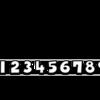 ロングソード姉貴:数字フォント作成