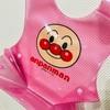 【離乳食エプロン】 丸洗い・速乾性でストレスなし!アンパンマンは園でもご機嫌、幼児食まで長く使える。
