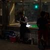 深夜渋谷飲酒路上撮影