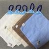 【保育園入園準備】 ハンドタオルで作る手拭きタオル(ループ付きタオル)の作り方 100均グッズで簡単手作りしましょ!!