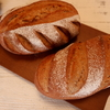 【ホシノ天然酵母】ミッシュブロート(ライ麦50%のパン)意外に酸味が少なく食べやすいです