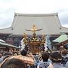 浅草の華「三社祭」…喝采と足拍子で夏迎え/  フォト・エッセイふうに