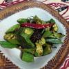 【インド料理レシピ】酒のつまみに! 香ばしいオクラのスパイス炒め