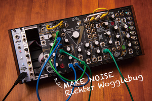 今月のモジュラー・シンセ:MAKE NOISE Richter Wogglebug 〜第6回 Patch The World For Peace