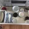 食器棚に食器をしまうのをやめました