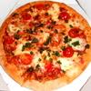 ★ピザの受け渡しも「ソーシャル・ディスタンス」だった♪