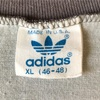 618 美品 良色 ビンテージ adidas VネックTシャツ