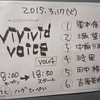 吉原茉依香 『vivivid voice vol.4』@渋谷gee-ge 2015/03/17