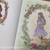 エポルの森の少女【森のきれいなもの】の塗り絵!背景にパステルを