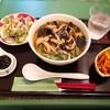 「麺ランチ(きのこたっぷりスープ麺)」MARICHOU-K
