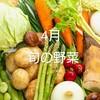 4月の旬の野菜
