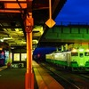 西若松駅にて^^…キハ47&40系、251&185系 名残の鉄旅⑳
