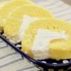 レンチン2分のロールケーキに好きなものを詰めるがいい