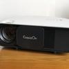 投影映像あり♪ 高輝度3200ルーメン、高解像度! Exquizon CL760プロジェクター
