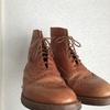 ダイソーの100円の靴磨きで8万円の革靴を磨いてみた。