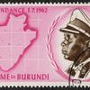 ブルンジ王国 ムワンブツァ4世 50フラン