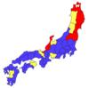 地番の振り方マップ(一村通し or 字別付番)