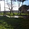水道橋公園からアッピア街道へ(ローマ郊外)