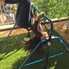 『鉄棒買ってみた!』8歳、逆上がりが2日でできた話 #stayhome