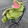トイザらスで買ったカエルのぬいぐるみ(アニマルアレイ)を痩せさせる手術を行った。