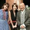 米倉凉子さん、鶴瓶さんのおかげだった