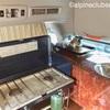ロケバン ダイニングキッチン改良/自作 バンコン キャンピングカー 〜仕込んで作り、食べて洗う。ただそれだけ〜