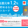 リクルートカード新規入会+利用で10,000円相当のポイントがもらえる!(2月17日まで)