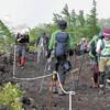 富士山、登山道が全面開通…浅間大社で安全祈願