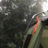 【中止する!?】雨キャンプでの撤収は地獄である【雨対策】