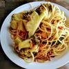 ブロッコリーとツナのスパゲッティ