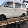 富岡市からタイヤの付いてない不動車をレッカー車で廃車の引き取りしました。