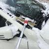 クルマの雪かき事案