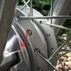 クロスカブ 前輪ブレーキの異音の修理
