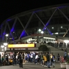 NBAウォリアーズのステフィン・カリーを観にサンフランシスコへ行ってました