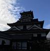 【写真複製・写真修復の専門店】逆光の長浜城の画像を修正