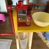 搾油機PITEBAの屋内設置場所問題:PITEBAスタンドを作りました