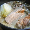 煮込むだけ超簡単!豚骨ベースの「プチっとごはんズ」で煮込む、豚ロース肉とワラビの煮込み