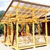 薪小屋の建築②