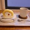 白楽ベーグルで、ロールケーキとキャロットケーキ@白楽