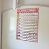 【お風呂ポスター】わかりやすい九九ポスターみつけました。