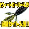 【リアクションイノベーションズ】ベストセラーの釣れるアメリカンワーム「スウィートビーバー4.20」通販サイト入荷!