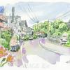 ふるさと新潟の町風景、自然とともに暮らす生活