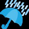 降水確率0%で雨が降っても嘘じゃない??