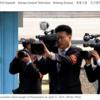 南北朝鮮首脳会談・北朝鮮カメラマンたち&冷戦より冷麺を