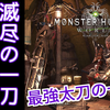 【MHW】太刀別解説~滅尽の一刀編~太刀評価+オススメ装備【モンハンワールド】