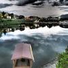 夕時の錦川
