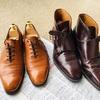 【愛用品】今日の靴磨き。気分がリフレッシュしました❗️