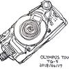 OLYMPUS TG-5のスケッチ