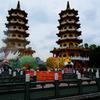 桃園空港から高雄へ…龍虎塔に登ってみた!